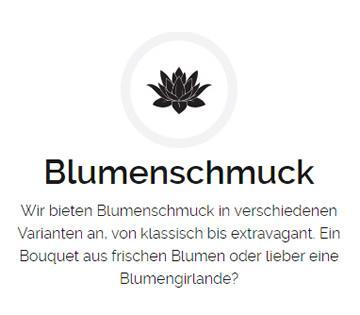 Blumenschmuck, Hochzeiten für 74749 Rosenberg