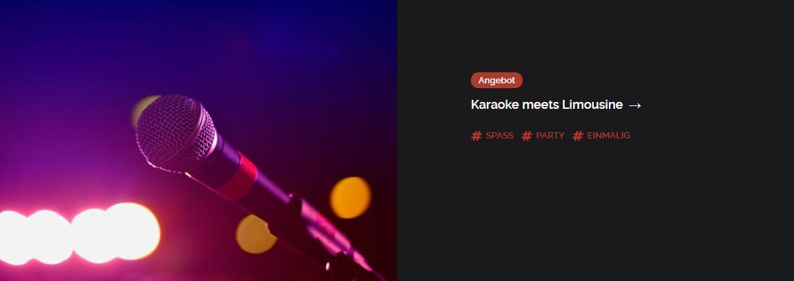 Karaoke für  Widdern